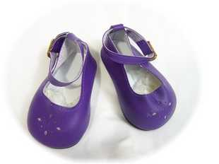 Doll Shoes Diamond Cut Rich Purple 85MM